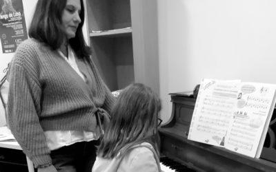 Nathalie Colley – Piano, Technique vocale